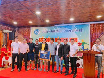 Kim Phong Land tranh cúp bóng đá khai xuân
